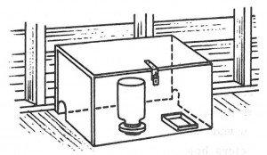Stasjon for rottegift
